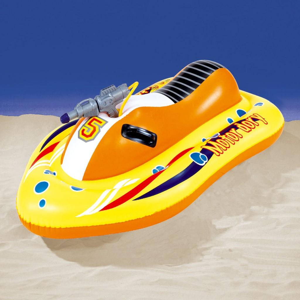 moto des mers gonflable avec pistolet eau integr planet passions. Black Bedroom Furniture Sets. Home Design Ideas
