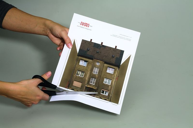 Cd Rom For Print And Built 9 Typical Old Town Houses
