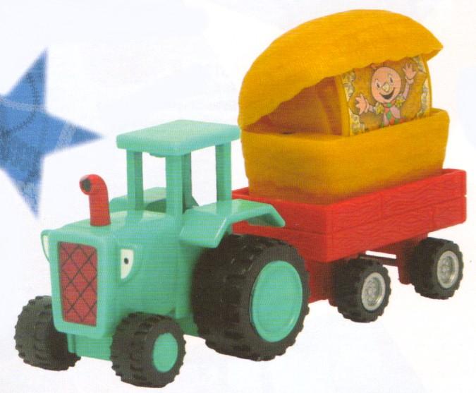 Bob The Builder Travis The Tractor - Planet Passions - Les Bricoleurs