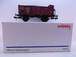 wagon tombereau DB epIII MARKLIN 1 Wagons