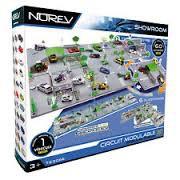 circuit de jeu et rond point modulable plaques 3d 1 voiture 82 5 x 82 5 cm planet passions. Black Bedroom Furniture Sets. Home Design Ideas
