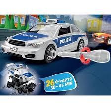 revelljunior kit maquette simple monter et d monter la voiture de la police planet passions. Black Bedroom Furniture Sets. Home Design Ideas