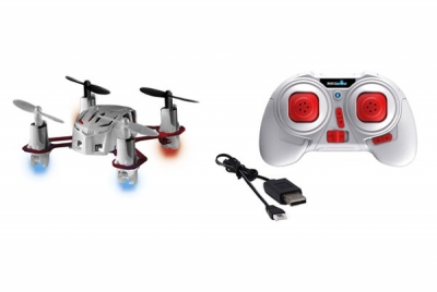NANO QUAD MICRO QUADROCOPTER  with 4 channel remote control 2,4Ghz white Video product - home