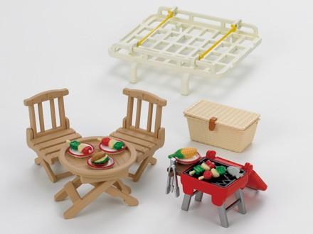 galerie voiture set pique nique sylvanian planet passions. Black Bedroom Furniture Sets. Home Design Ideas