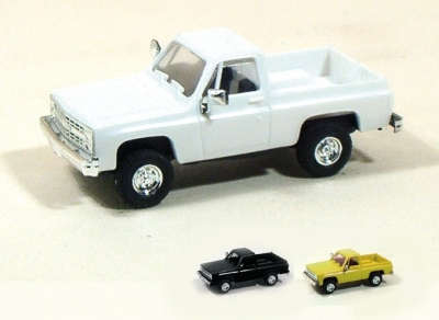 Chevrolet pick-up blanc Voitures